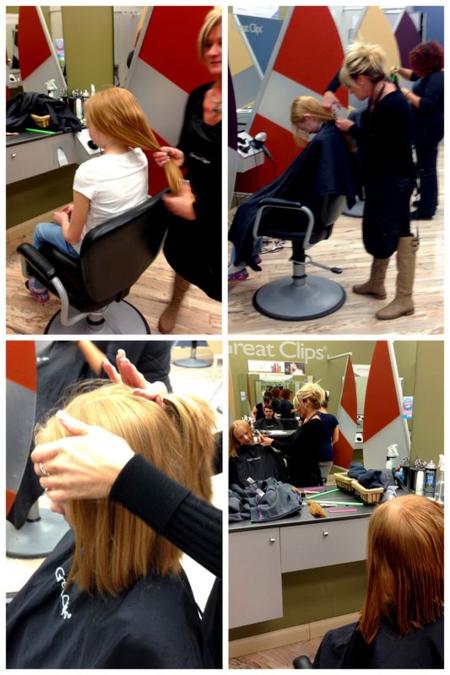 11015 Lily's Haircut