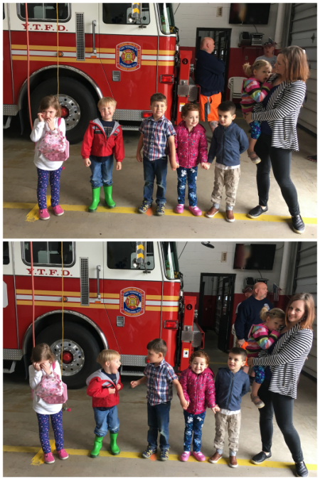 4-22-17 Preschool Firehouse Field Trip1