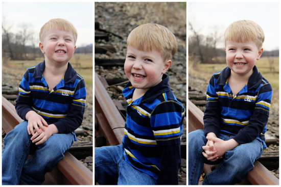 1-12-17 Arthur's 4 Yr Old Portraits