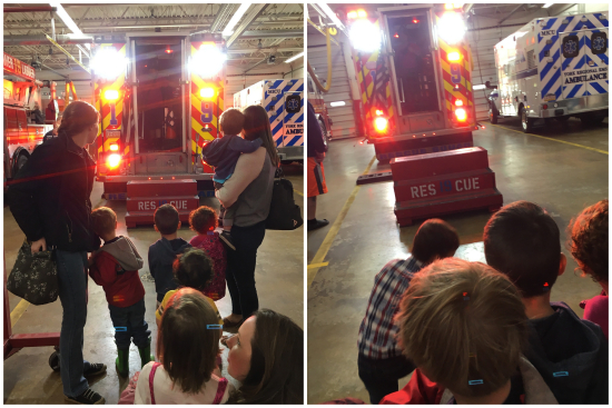 4-22-17 Preschool Firehouse Field Trip